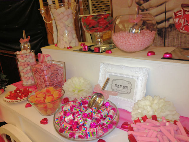 Pink Sweet Buffet