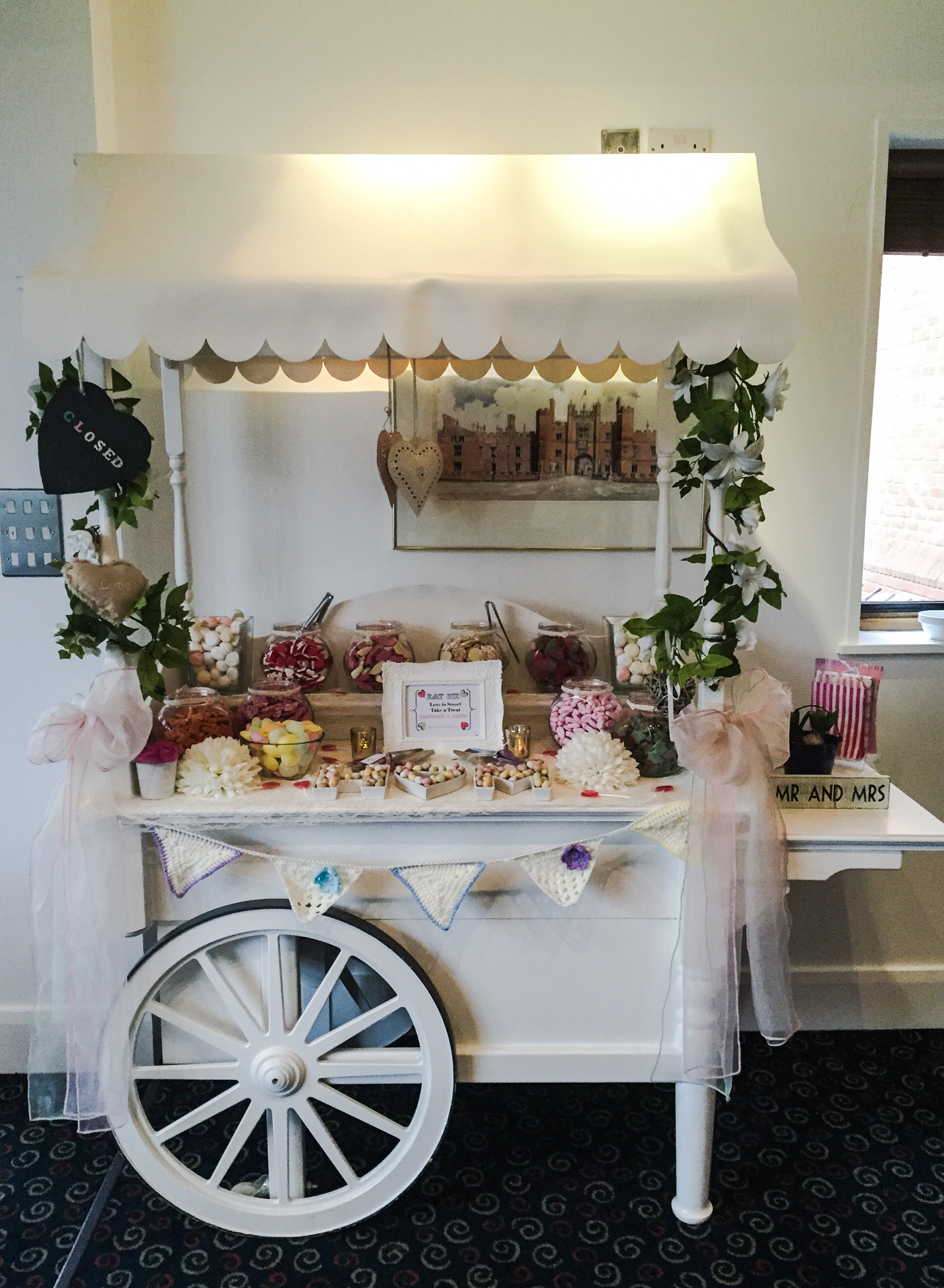 Hannah & Matt Candy Cart 4