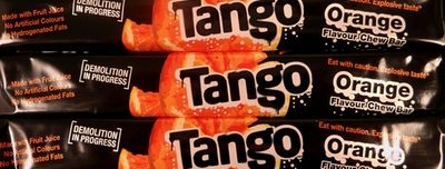 Tango Orange Bars